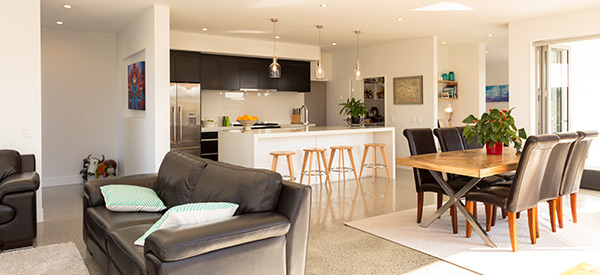 open plan living photo