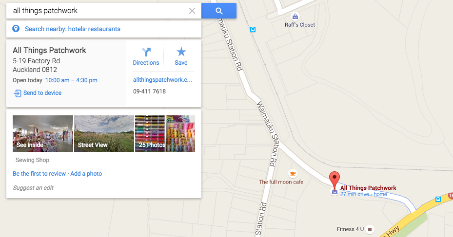 Presence on Google Maps AFTER engaging topVIEW Photography: