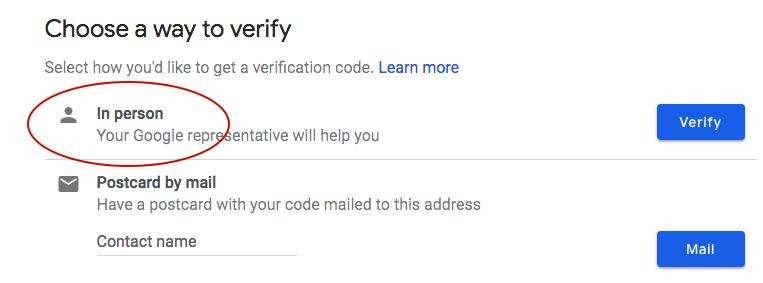 Google My Business (GMB) Verification - topVIEW Photography